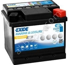 Exide Equipment GEL ES450 R+ 40AH 450Wh