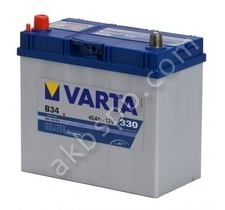 Varta 545 158 033 Blue dynamic-45Ач (B34)